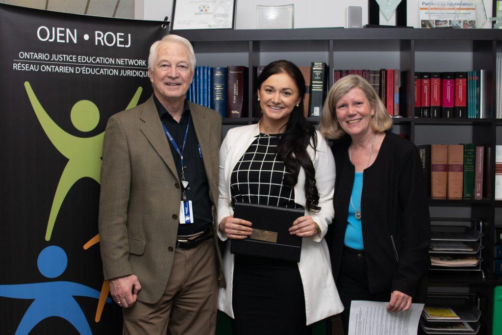 Ted Herbert, Rebecca Strain, and Jan Haskings-Winner